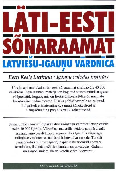 Läti-eesti sõnaraamat