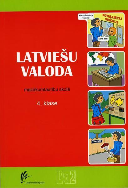 Latviešu valoda 4.klasei mazākumtautību skolā. Mācību grāmata
