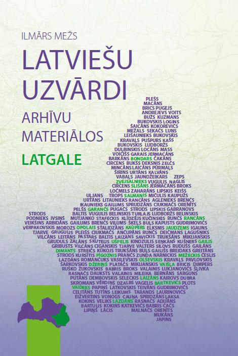 Latviešu uzvārdi arhīvu materiālos: Latgale